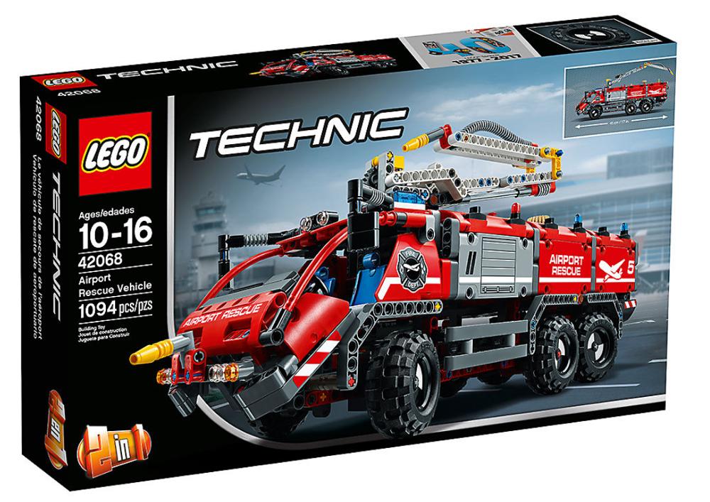 Klocki Lego Technic 42068 Pojazd Straży Pożarnej